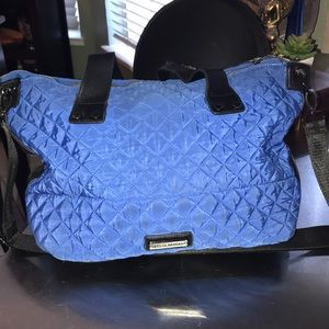 Steve Madden Royal Blue Quilted Crossbody Purse